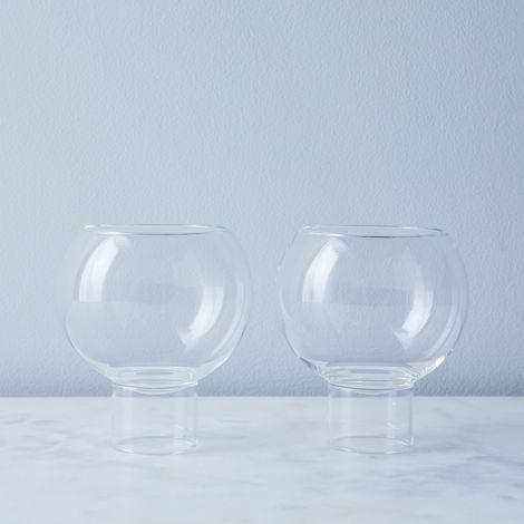 Tulip Wine Glasses (Set of 2)