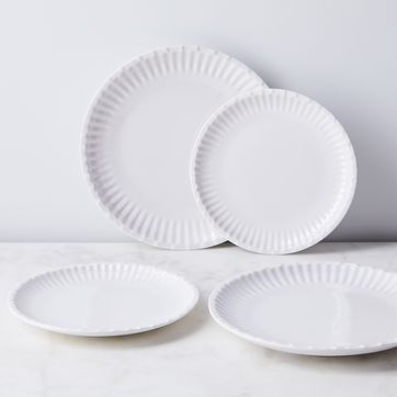 Melamine Paper Plates Set Of 12