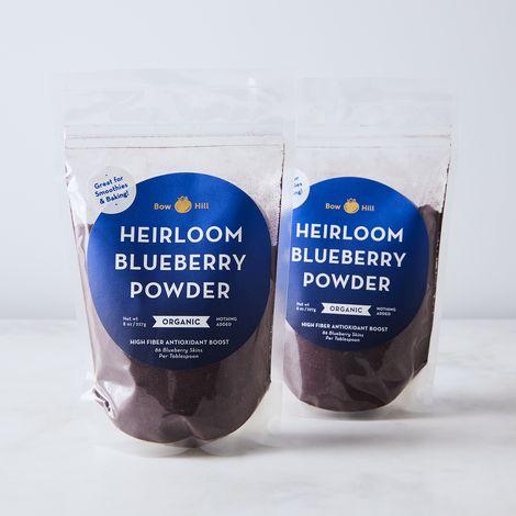 Organic Heirloom Blueberry Powder (Set of 2)