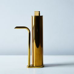 Brass Oil Decanter