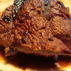 A Cup of Coffee Barbecue Sauced Steak
