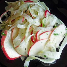 Fennel, Apple, Jicama & Radish Slaw