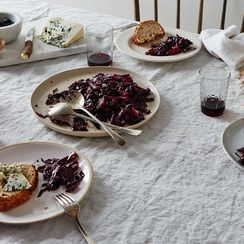 Waverley Root's Agrigento Red Cabbage with Black Olives and Capers