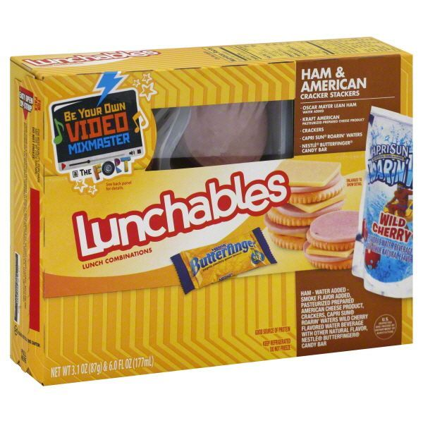 How to make a lunchable like an adult before they put nutritional information on the packaging solutioingenieria Gallery