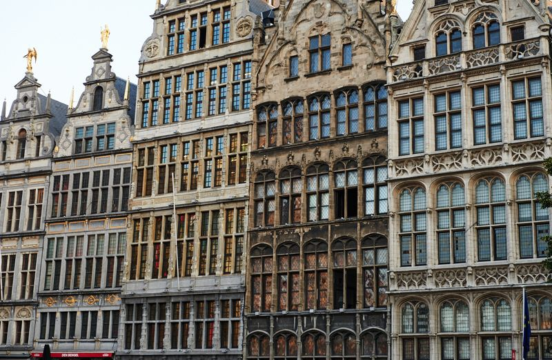 The Guild Houses in Antwerp