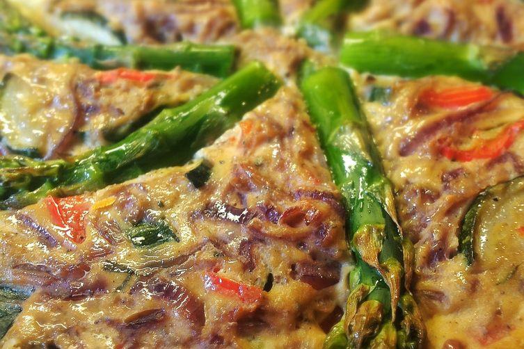 Tofu and Vegetable Bake