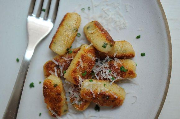 Ricotta and Chive Gnocchi