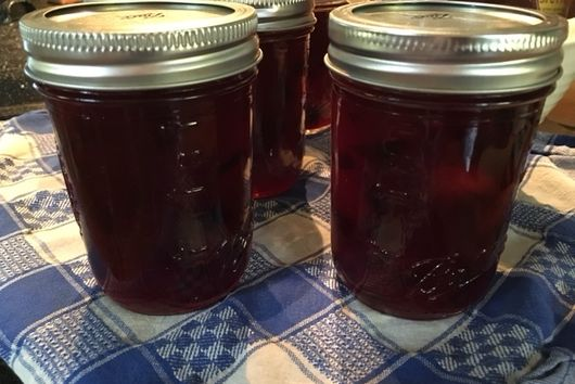 Plum Jam with a Little Bite to It