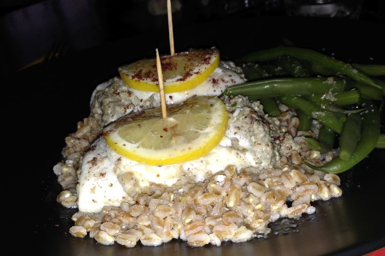 Stuffed Flounder Rolls