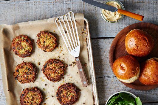 How to Make a Veggie Burger That Won't Fall Apart
