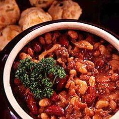 Old settler baked beans