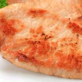 Pan-Seared Pork Tenderloin with Garlicky Spinach