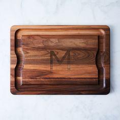 Monogram Walnut BBQ Board