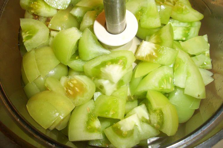 Green Ajvar (Green Tomato Relish)