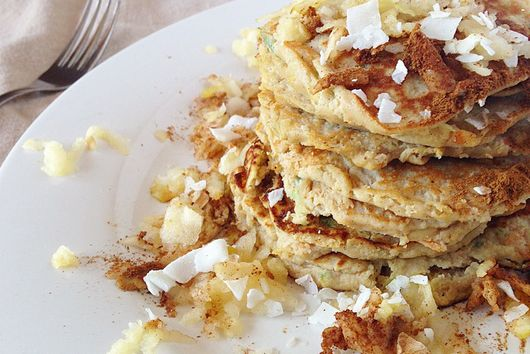 Paleo Apple Harvest Pancakes