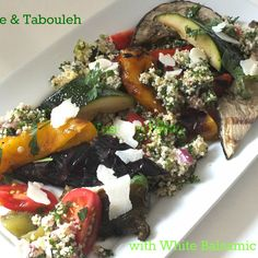 Ratatouille & Tabouleh