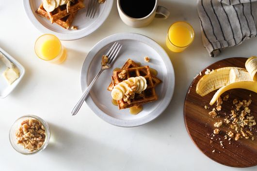 We're in Love with This Refreshingly Low-Tech Stovetop Waffle Iron