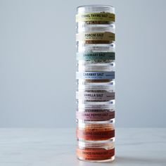 Spice & Herb Salt Tower