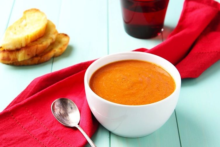 Caramelized Herb Tomato Soup