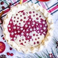 Holly Jolly Sangria Pie