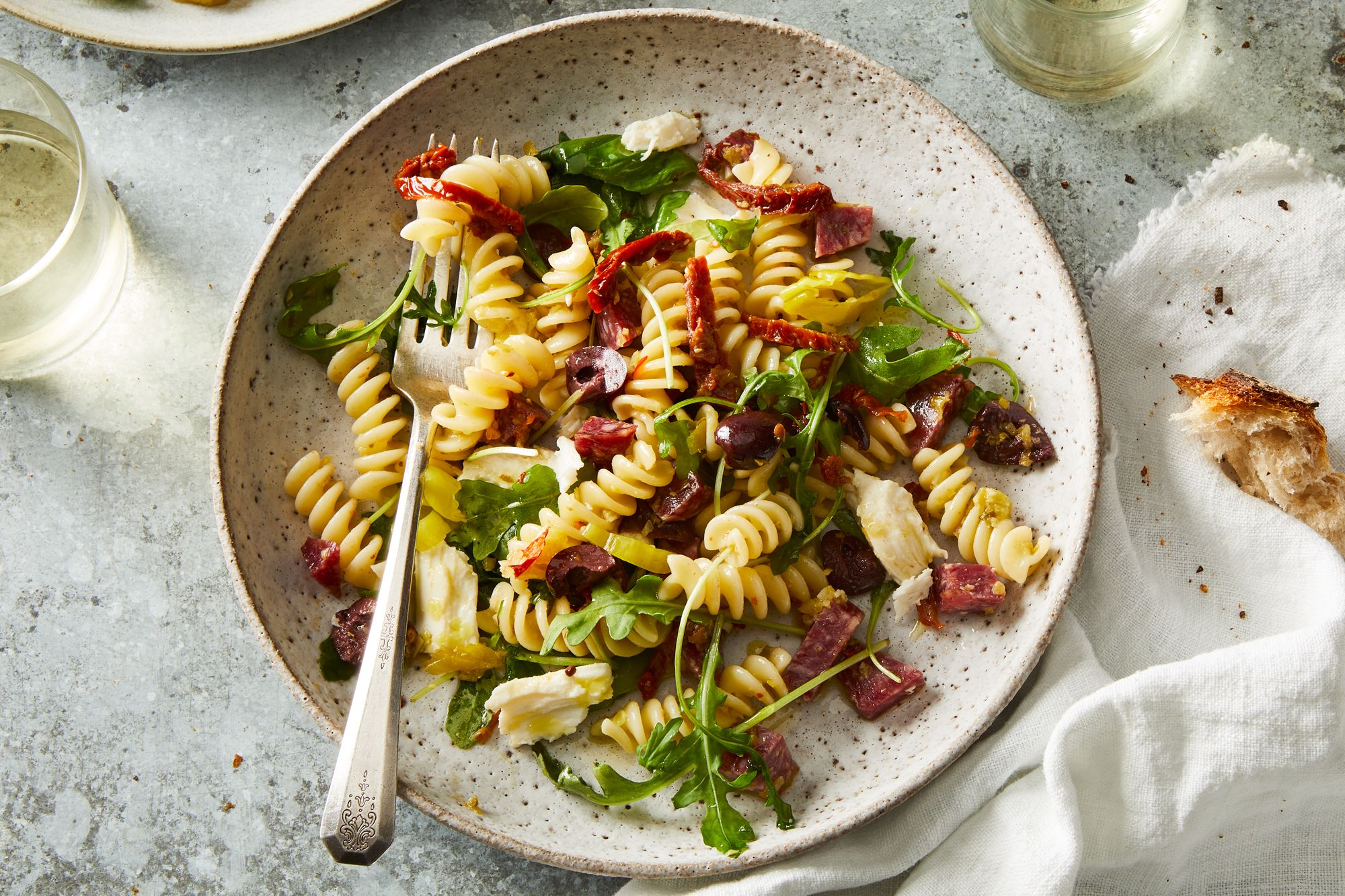 This Genius Italian Pasta Salad Breaks the #1 Rule in Pasta Cookery