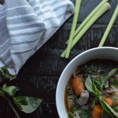 Spicy Asian Lemon Grass Beef Stew
