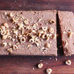 Gianduia Semifreddo (Chocolate-Hazelnut Frozen Dessert)