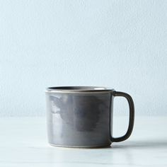 "Mini Ceramic ""Tin Cup"" Mug"