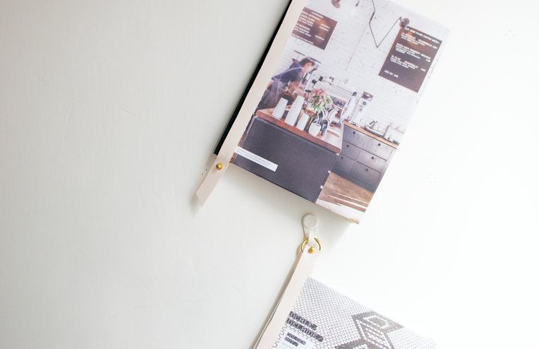 How to Make a Leather Magazine Display