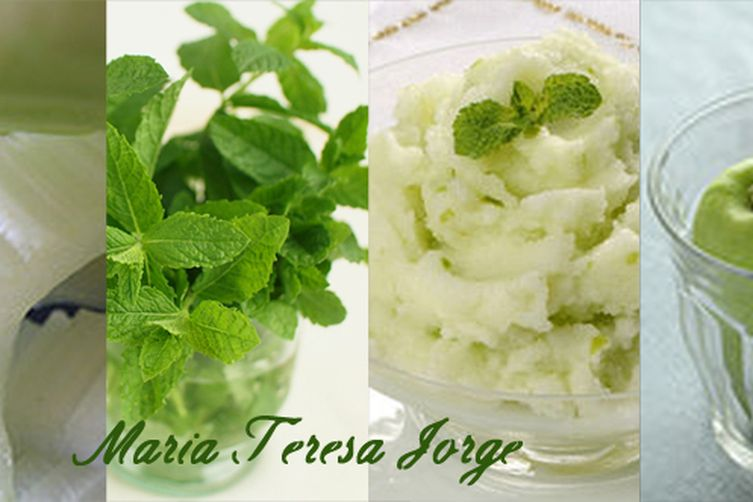 Celery, Green Apple and Mint Sorbet