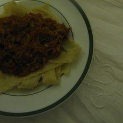 Pork (or beef) Ragú