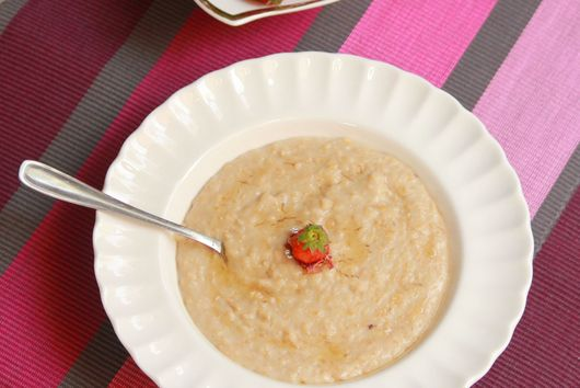Rose and Honey Flavored Oats