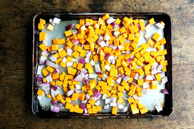Baked Quinoa with Roasted Butternut Squash & Gruyère