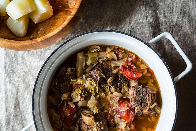 Sweet and Sour Short Rib Stew