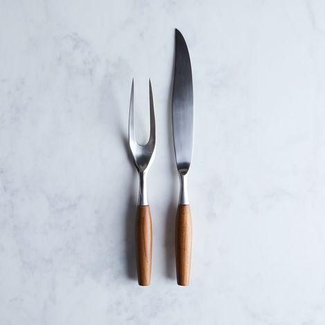 Dansk Classic Fjord Teak Carving Set