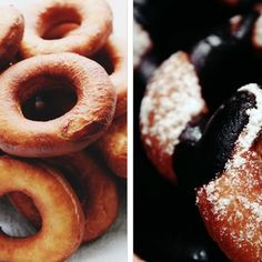 Dairy Free Hanukkah Mini Donuts with Quickest Chocolate Glaze
