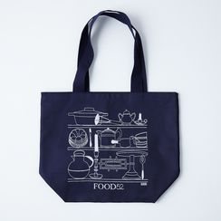 Food52 Illustrated Tote Bag, by Claudia Pearson