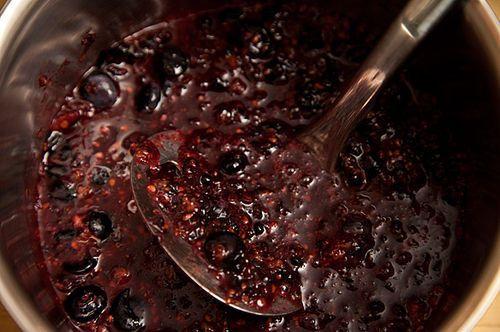 Blackberry, Rosemary, and Yogurt Ice Pops
