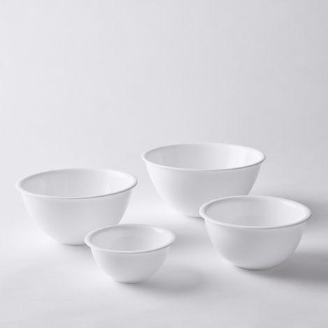 Opal Glass Nesting Bowls (Set of 4)