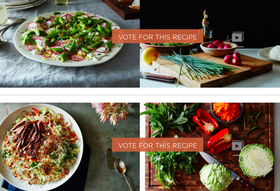 Vote for the Winner of Your Best Shaved Salad