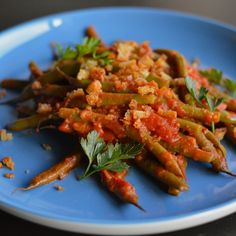 Carmen's Green Beans Catalán