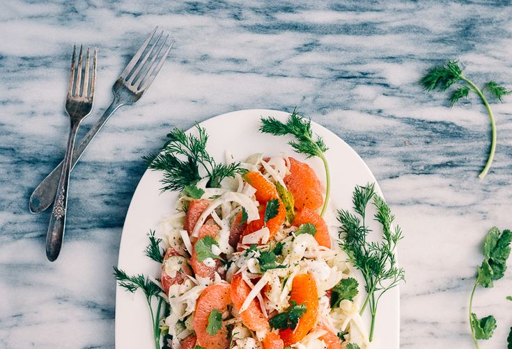 A Citrus Salad to Brighten Up Even the Gloomiest Days