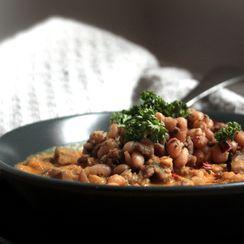 Sweet Potato Chili with Sausage & White Beans