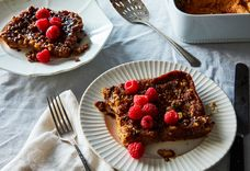 A Make-Ahead Baked French Toast in Sticky Bun Clothing
