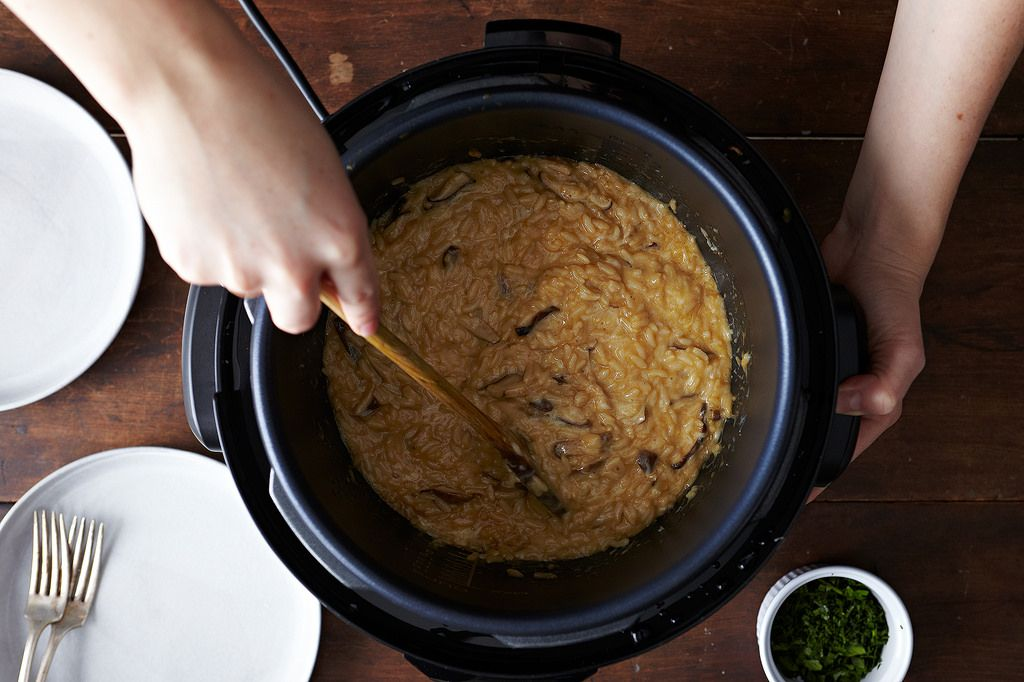 Risotto in Pressure Cooker