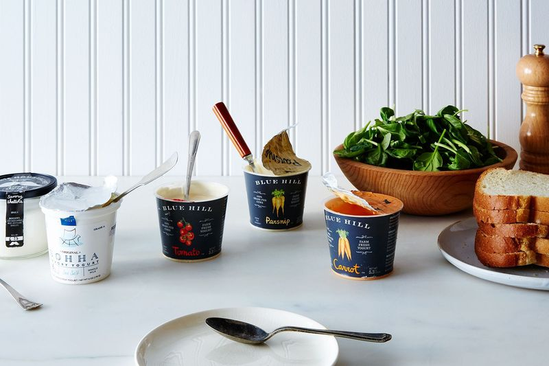We're *all* about savory yogurt—as long as the containers get rinsed and recycled.