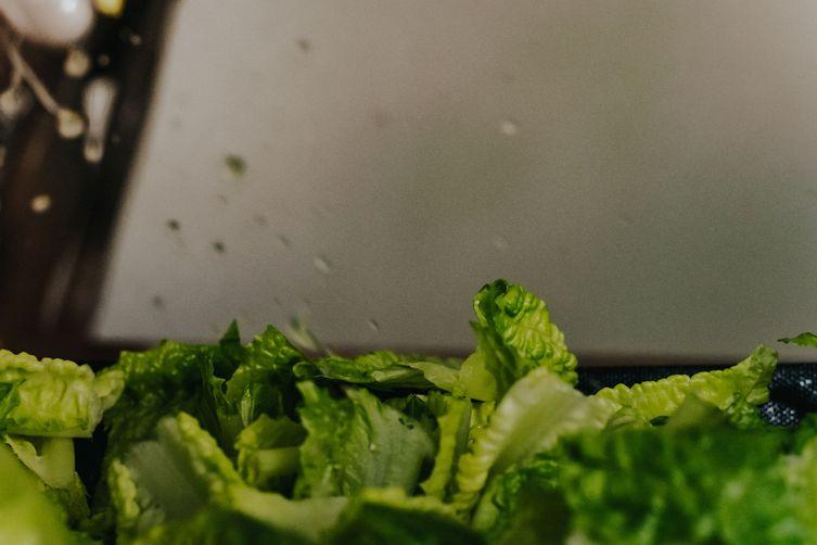 Cauliflower Romaine Toss