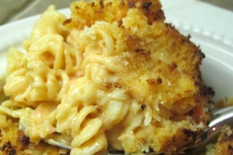 SALSA BAKED MAC N' CHEESE