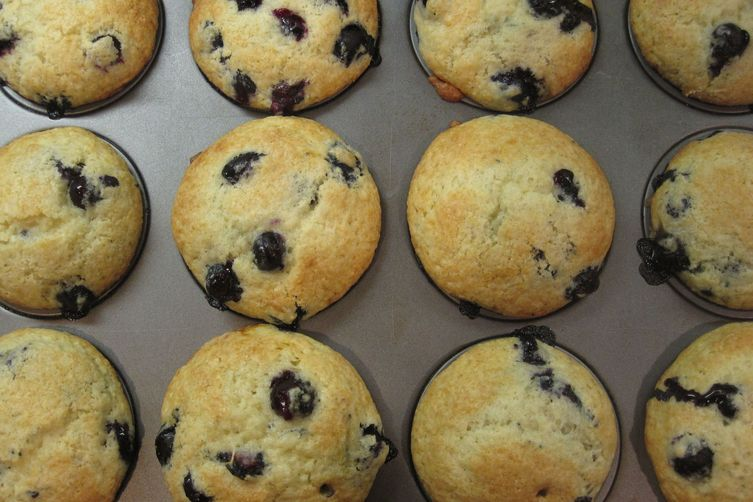Memories of Maine Blueberry Muffins