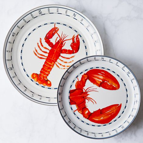 Enamel Lobster Platter